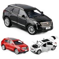 132 CADILLAC-XT5 يموت المصبوب سبيكة نموذج سيارة الطبعة المقتنيات سيارات لعبة عيد ميلاد الصبي