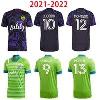 2021 2022 سياتل Sounders FC Home Away Soccer Jerseys MLS 21 22 Ruidiaz Morris Dempsey Torres كرة القدم القمصان Roldan Montero Lodeiro 999