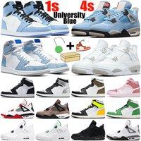 أحذية كرة السلة nike jordan 4 air retro 4s air jordan retro 1 1s 1s 4s رجالي Jumpman 1 4 أحذية رياضية نسائية رياضية