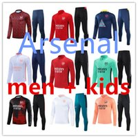 2021 2022 남자 Arsen Tracksuit 축구 유니폼 세트 트랙 슈트 21/22 교육 슈트 유니폼 셔츠 긴 소매