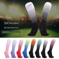 Sports Socks Stripe Football Knee Male Woman's Long Stocking Non-Slip Cycling Jogging Fitness Running Trekking Pro