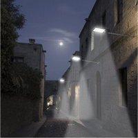 Wall Lamps Solar Street Light Outdoor Garden 36 LED PIR Motion Sensor Lamp Security Lights For Home Patio Lighting Decor