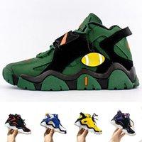 أطفال أحذية كرة السلة الأطفال الصبي الفتيات منتصف المشي المدربين الأصفر الجدار الأسود الأخضر كابانا ميامي الأعاصير الرياضية أحذية رياضية بيضاء
