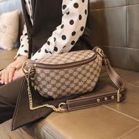 Designer fanny pack for women clucth purses crossbody chest bag fashion shoulder waist bag khaki handbag luxury brand wallet