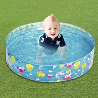 Pool & Accessories Summer Baby Inflatable Swimming PVC Kids Water Play Toy Round Basin Bathtub Outdoors Ocean Balls Container Toys