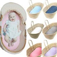 아기 침대 모세 바구니 슈퍼 소프트 버블 침대 침대 케어 패드 커버 장착 시트 휴대용 조절 세탁 가능한 크래들 moisés l5