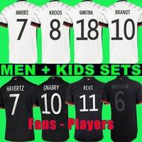 المشجعون لاعب النسخة 2020 2021 ألمانيا لكرة القدم الفانيلة جوندوجان gnabry هرنر كروس 20 21 كيميش مايلوت دي القدم لكرة القدم سان جوريتزكا يمكن أن havertz مولر الرجال + الاطفال