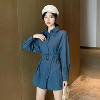 Women Blouse Autumn and Winter New Corduroy Shirt Women Korean Style Long Sleeved Design Non-Mainstream Tops