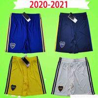 2020 2021 NEW NEW ARGENTINA CLUB BOCA Juniors Soccer Shorts الرابع الأزرق الكبار رجالي المنزل بعيدا الأبيض الثالث الأصفر سروال كرة القدم 20 21