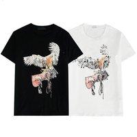 2021 Herren Mode T-shirt Designer Männer S-Kleidung Schwarz Weiß Tees Kurzarm Frauen Casual Hip Hop Streetwear T-Shirt