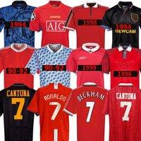 호나우두 베컴 맨 07 08 90 92 유나이티드 레트로 UCL 최종 경기 UTD 홈 맨체스터 저지 1994 1998 United Cantona Keane Scholes Giggs 클래식 빈티지 유니폼