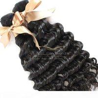 High Grade Brasilianische Haarverlängerungen Haare Gewebe 4 stücke Lot Jungfrau Menschliches Haar Tiefwelle Natürliche Farbe Bellahair