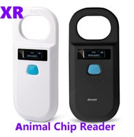5set Light Weight FDX-B Reader animal tag Microchip reader ISO chip Portable OLED pet dog cat Microchip scanner 134.2khz rfid glass tag With 128records Memorry