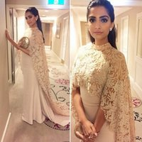 2021 Dresses Evening Wear With Long Wrap Appliques Elegant Arabic dubai kaftan indian Prom Party Celebrity Gowns Vestidos