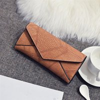 Wallets Women Pu Leather Matte Clutch Long Purse Wallet Card Handbags Multiple Colors Available 2021 The Latest Style