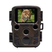 야생 동물 트레일 포트 랩 미니 사냥 카메라 12MP 1080P 방수 비디오 레코더 카메라 보안 농장 빠른 트리거 시간