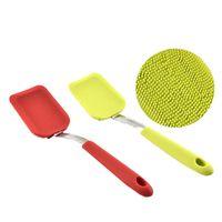 Волшебная чистящая щетка многофункциональная кухня длинная ручка силиконовая посуда моет протягивает щетки