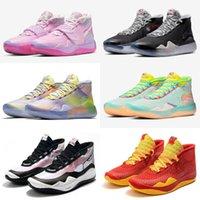 Kevin Durant Kids 12 XII Rosa O que a tia Pearl Sneakers para os 12s KD Sports Treinando Sapatos