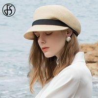 Белые соломенные шляпы для женщин Beret Hat весна лето женское солнце пляжные шапки лента Capeau Femme Foldbale Cap широкий край