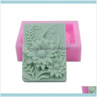 Craft Arts, Crafts Gifts Home & Gardencraft Tools Monqui Morning Glory Flower Sile Soap Molds Candle Art Resin Drop Delivery 2021 Ezvae
