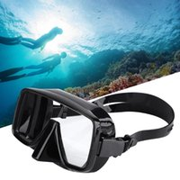 Diving Masks Plastic Deep Mirror For Adults Snorkeling Scuba Mask Silicone Skirt Three-Lens Panoramic Dive