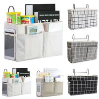 Storage Boxes & Bins Bed Bedside Tidy Hooks Cabin Shelf Bunks Pockets Organiser Small Holder Bedroom Organizer Canvas