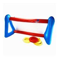Pool Zubehör Sommersport Aufblasbare Float Set Wasser Spielzeug Schwimmen Spiele für Kinder Basketball Handball Volleyball Jump Wubble Ball