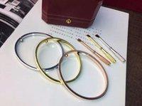 2021 Marca Bangles Designer Jóias Love Bracelet Liga 14K Prata Prata Prata Multi-Color Acessórios Completo e Rápido Entrega