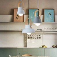Macaron Creative LED Pendant Light lamp Post Modern Minimalist Design clothing store restaurant bedroom showroom with E27