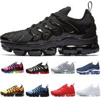 2021 Erkekler Artı Kadın Ayakkabı Üçlü Kırmızı TNS Eğitmenler Yastık Siyah Beyaz Mavi Pastel Üniversitesi Altın Yüksek Kaliteli Sneakers 36-46