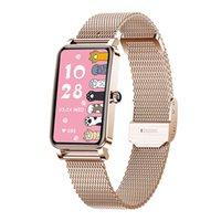 Designer de luxe Marque Montres N Smart Custom Tableau Touch Full Touch IP68 Imperméable Smart for Femme Beau Bracelet Moniteur de fréquence cardiaque