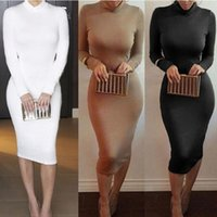 Winter Soft Cotton Stretch Black Party dresses for womens Plus Size Skinny Sexy Club Wear Gorgeous Warm Maxi Bandage Bodyconshuangsu