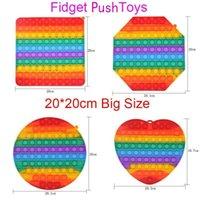 20 cm grande dimensione giocattoli giocattoli push tasto antistress giocattolo partito favore bolla sensoriale squishy jouet pour artisti per adulti regalo per bambini