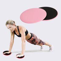 Yoga Mats Фитнес-скользящая пластина Диски слайдер Координация Упражнения Брюшной ядерной мышцы Учебная раздвижная доска Бодибилдинг Оборудование