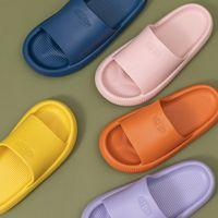 Youdiao EVA Delik Sızdıran Terlik Kadın Banyo Ayakkabı Slaytlar Kaymaz Yaz Kapalı Ev Terlik Ev Banyo Sandalet Erkekler 1124 Y2