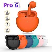 Wholesale TWS Wireless Headphone Mini Smart Earphones in-Ear Headphones Bluetoth Earbuds P63 Pro 6