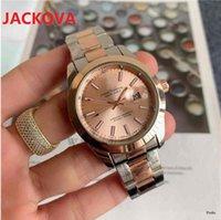 men's japan quartz movement watches 40mm high quality fine steel super simple designer watch high-end calendar mens wristwatch