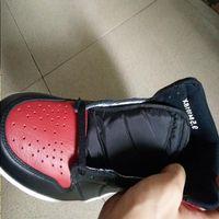 Chaussures d'athlétisme de basket-ball 2016 Chaussures hommes 555088-001 Banked Banked Banned Wholesale HMHWX