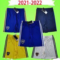 2021 2022 Argentinien Club Boca Juniors Fussball Shorts 21 22 Vierth Blaue Erwachsene Herren nach Hause weg weiß Dritter Gelb Fußballhosen Top Qualität S-2XL