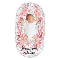 Scheda per culla Pannolini per bambini Pad Pad Flower Stampato Copertura da Culla per Neonato Mosè Basket Materasso letto