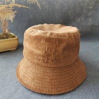 Luxus Herbst Winter Mode Fischer Hut Brief Drucken Hohe Qualität Eimer Hüte Herren und Womens Casual Classic Hot Style Warm Bucke AX114