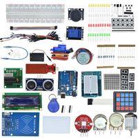 Arduinos R3ブレッドボードとホルダーステップモーターのスターターキット1602 LCDジャンパー線R3