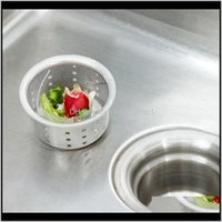 Other Housekeeping Organization & Gardenkitchen Drain Bag Residue Filter Sink Network To Prevent Garbage Bags For Home Kitchen Aessories Dro