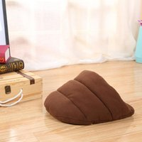 Cute Puppy Slipper Shape Bed Cat Dog Cave Nest Pet House Soft Warm Cushion Tunnel For Pets Size Kennels & Pens