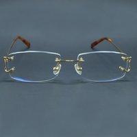 Прозрачные очки Mens Brand Designer Optical Frame Роскошный Картер Глаз Стеклянные Рамки Большие C Чистое Очки