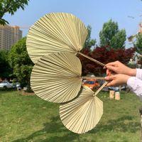 1PC 말린 꽃 DIY 홈 숍 디스플레이 장식 재료에 대 한 자연 pu 팬 리프 웨딩 장식에 대 한 팜 트리 1186 v2