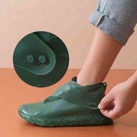 Ayakkabı Aksesuarları Ayakkabı Kış Kapakları Su Geçirmez Kaymaz kadın Yağmurlu Çizmeler Şile Kadın Yağmur Boot Kullanımlık Açık Kalınlaşmış Taşınabilir Cep Kapak