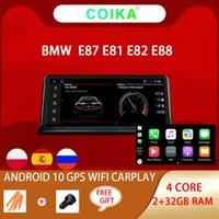 "10.25 ""Android 10.0 시스템 자동차 DVD 멀티 메이 아 BMW E81 E82 E87 E88 2005-2012 블루투스 음악 WiFi Google Carplay IPS 터치 스크린 GPS Navi Radio 2 + 32GB RAM 스테레오"