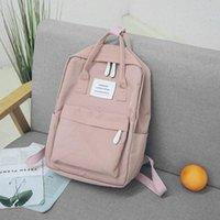 School Bags 2021 Fashion Women Backpack Waterproof Canvas Travel Female Bag For Teenagers Girl Shoulder Bagpack Rucksack