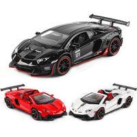 132 LP700-4 LP750 LP770 Aventador Veneno Sian Roadster سبيكة نموذج سيارة يموت يلقي لعبة سيارات كيد لعب للأطفال هدايا الصبي لعبة